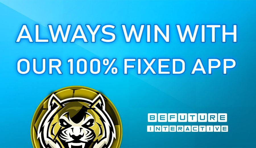 Always win with our 100% Fixed application!