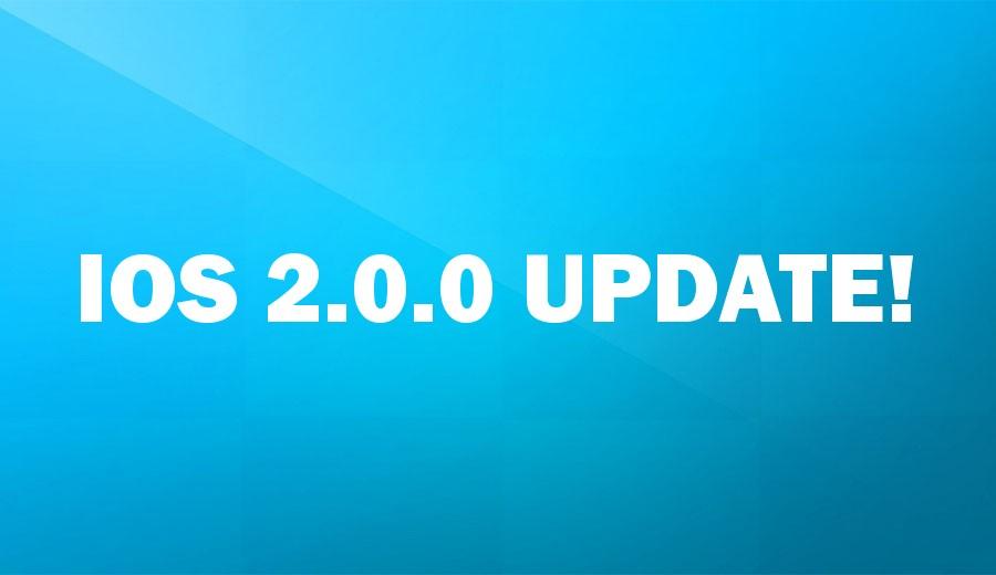 iOS 2.0.0 Update!