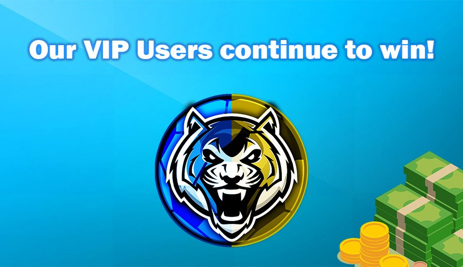 Our VIP Users continue to win!