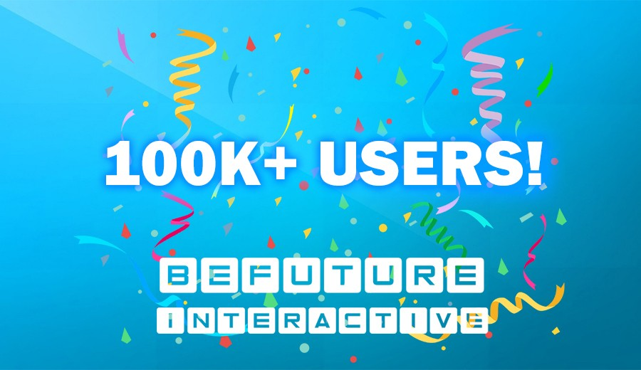 We have reached 100K+ users!